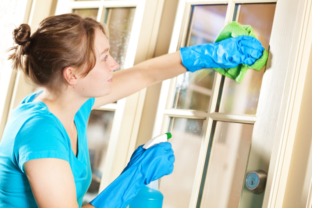 , How to get your windows gleaming inside and out.